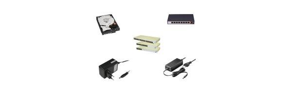 Netzteile und Festplatten