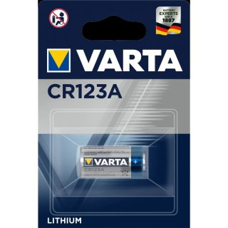 Varta Electronics CR123A Lithium 3V Fotobatterie