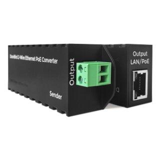 DoorBird 2-Draht Ethernet PoE Konverter