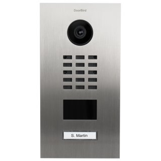 DoorBird IP Video Türstation D2101V, 1 Ruftaste