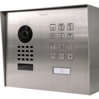 DoorBird IP Video Türstation D1101KH Modern, Aufputz