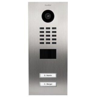 DoorBird IP Video Türstation D2102V, 2 Ruftasten
