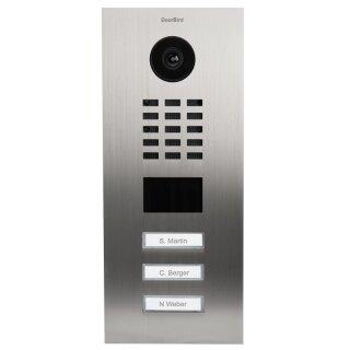 DoorBird IP Video Türstation D2103V, 3 Ruftasten