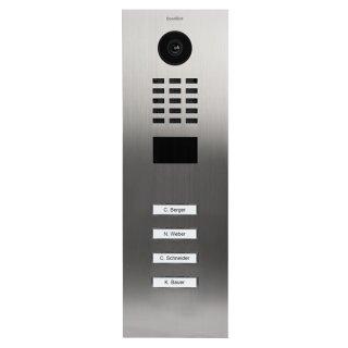 DoorBird IP Video Türstation D2104V 4 Ruftasten