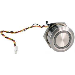 Beleuchteter Edelstahl Button für DoorBird D1101KH Classic Aufputz/Unterputz
