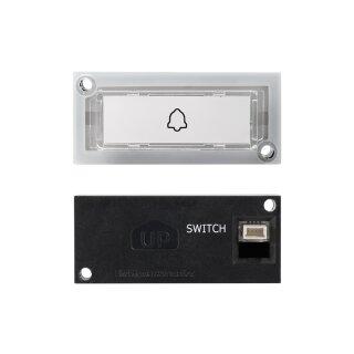 Beleuchtete Ruftaste für DoorBird D11x IP Video Türstation, mit Namensschild