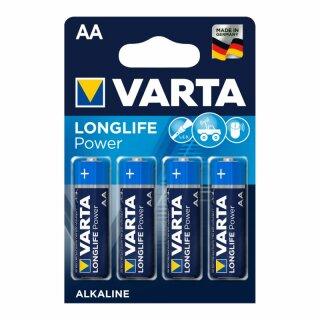 Varta Longlife Power Micro AA Batterie (4er Blister)